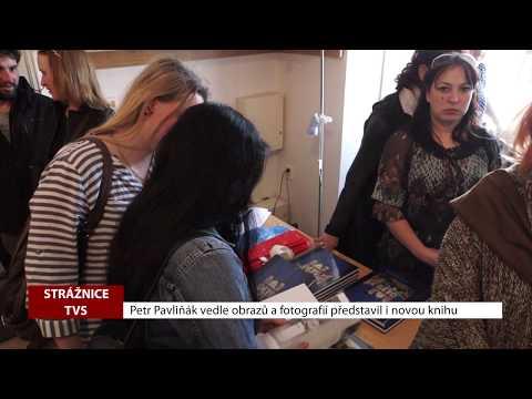 TVS: Strážnice - Petr Pavliňák představil svou výtvarnou tvorbu i novou knihu
