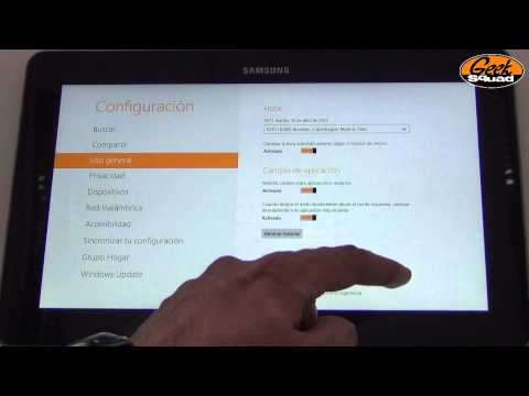 TiP: Cómo restablecer de fábrica una tablet con Windows 8