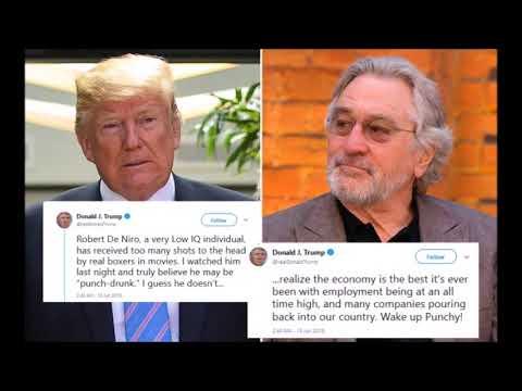 Donald Trump RESPONDS To Robert De Niro On Twitter LOL