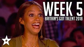 Video Britain's Got Talent 2018 | WEEK 5 | Auditions | Got Talent Global MP3, 3GP, MP4, WEBM, AVI, FLV Agustus 2019