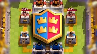 Clash Royale - CLAN BATTLE GAMEPLAY! New 2v2 Mode