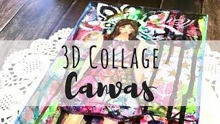 3D Collage Canvas