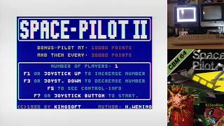 Space Pilot II (Commodore 64) by ILLSeaBass