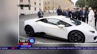 Video Intip Yuk Lamborghini Baru Milik Paus Fransiskus - NET12 MP3, 3GP, MP4, WEBM, AVI, FLV Agustus 2018