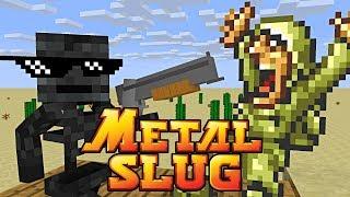 Video Monster School : METAL SLUG CHALLENGE - Minecraft Animation MP3, 3GP, MP4, WEBM, AVI, FLV Maret 2019
