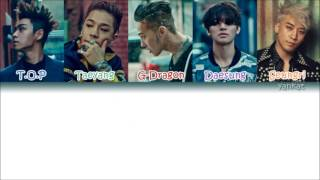 """BIG BANG's song, """"BAE BAE"""" with Hangul, Romanization and Eng subs! (The members are in order of age) CREDIT:..."""