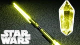 The OLDEST Lightsaber Crystal In Star Wars