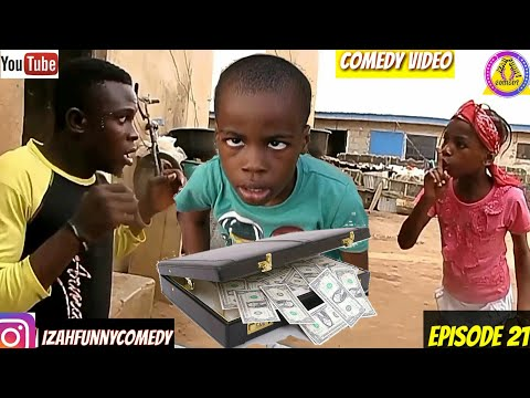 1MILLION DOLLARS AND TRUE LOVE (latest nigerian comedy) (Izah Funny Comedy) (Episode 21)