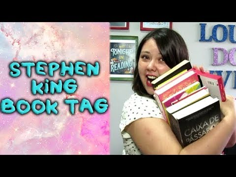 Stephen king book tag | 2017