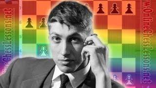 Bobby Fischer vs Pal Benko - Crushing the Pirc Defense