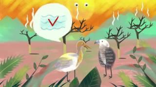 族語夢工廠II-阿美語-15魯凱族動畫 白冠鷺