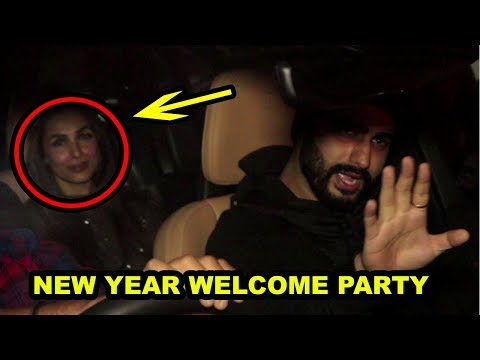 Malaika Arora And Arjun Kapoor Ring In The New Year Together At Sanjay Kapoor's Party