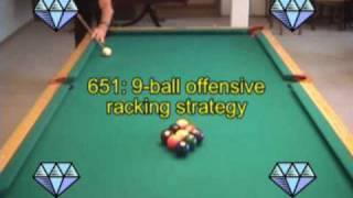 9-ball Pool Pattern Racking Strategy, From VEPS V (NV B.89)