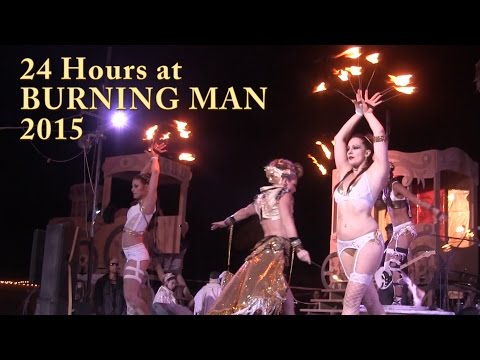 24 Hours at Burning Man 2015