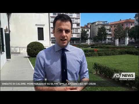 ONDATE DI CALORE: MONITORAGGIO SU OLTRE 2MILA ANZIANI | 02/07/2020