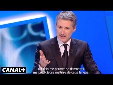 Hommage d'Antoine de Caunes à Kevin Costner - César 2013