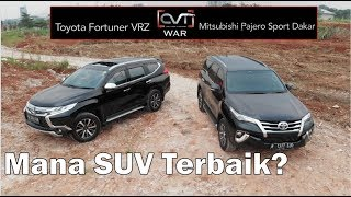 Download Video CVT WAR: Toyota Fortuner VRZ Vs Mitsubishi Pajero Sport Dakar | Mana SUV Terbaik? | MP3 3GP MP4