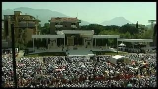 Visita di Benedetto XVI a Cassino