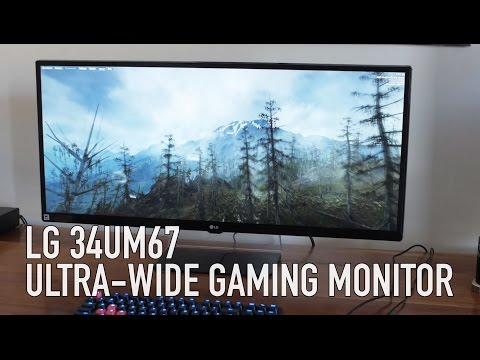LG 34UM67: Freesync Ultra-wide 21:9 Gaming Monitor Review