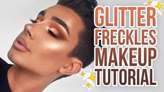 Video GLITTER FRECKLES MAKEUP TUTORIAL MP3, 3GP, MP4, WEBM, AVI, FLV Januari 2018