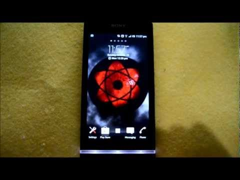 Video of Sharingan Live Wallpaper