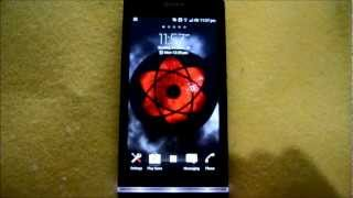 Sharingan Live Wallpaper YouTube video