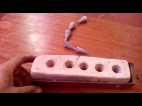 Как из свинца сделать грузы