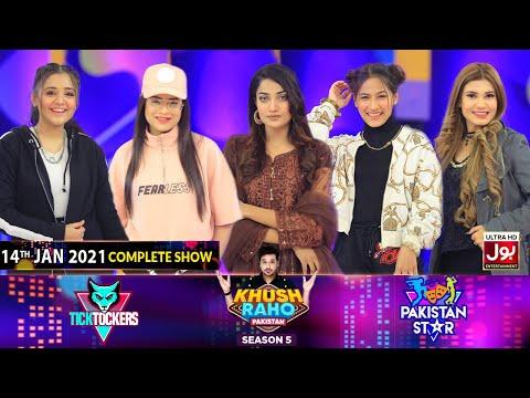 Game Show | Khush Raho Pakistan Season 5 | Tick Tockers Vs Pakistan Stars | 14th January 2021