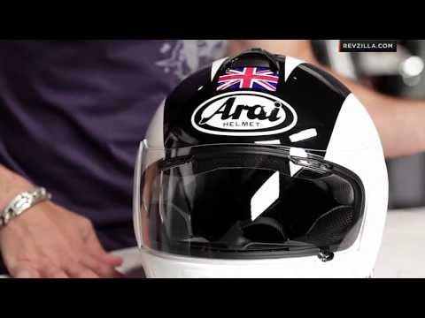 RevZillaTV - Arai Vector 2 Phil Read Helmet Review http://www.revzilla.com/motorcycle/arai-vector-2-phil-read-helmet The Arai Vector 2 Phil Read Helmet pays homage to Phi...