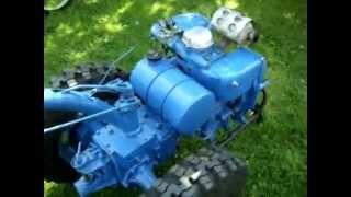 Mотоблок МТЗ-05 после капитального ремонта двигателя