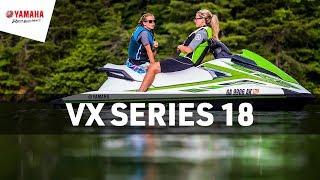 9. Yamaha 2018 VX Series Waverunners