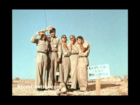 atomic - On July 19, 1957, five men stood at Ground Zero of an atomic test that was being conducted at the Nevada Test Site. This was the test of a 2KT (kiloton) MB-1...