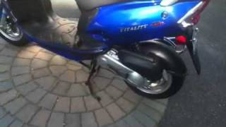 6. Kymco Vitality Scooter