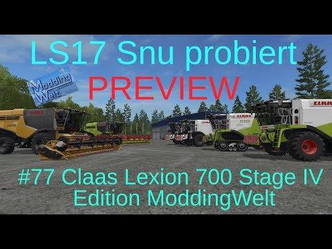 Claas Lexion 700 Stage IV MW Edition v2.0.1.0