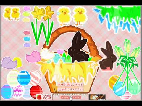 Video of Easter Basket Dressup