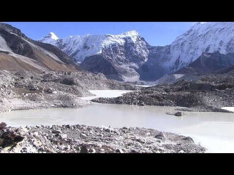 Gletscher in Nepal: