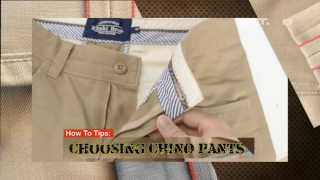 Video iLook - How to Tips - Choosing chino pants MP3, 3GP, MP4, WEBM, AVI, FLV Desember 2018