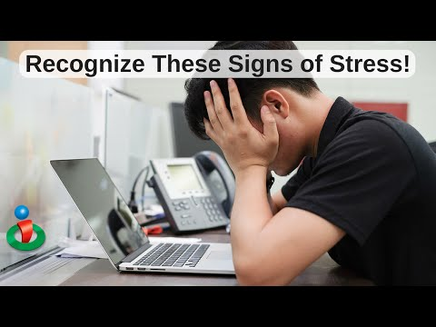 Recognize These Signs of Stress!
