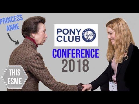 Pony Club Conference 2018   This Esme
