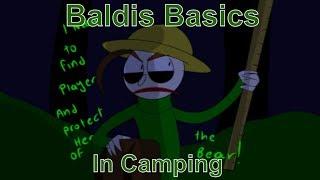 Camping with Baldi (Baldis Basics Comic Dub)