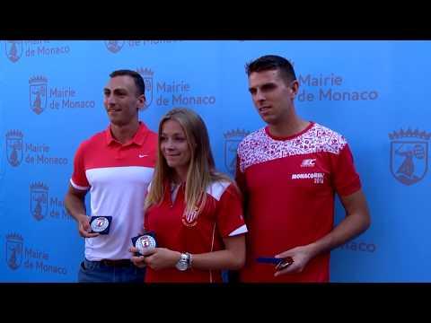 Sports: Monaco celebrates national athletes