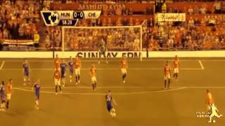 Manchester United-Chelsea 0-0 Highlights // Premier League 2013-2014 [HD]