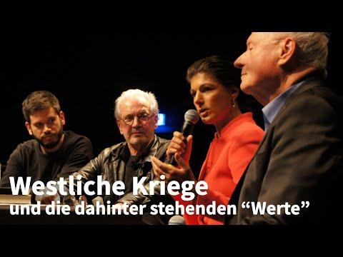 """""""Die große Heuchelei"""" — Diskussion mit Jürgen Todenhöfer & Sahra Wagenknecht"""
