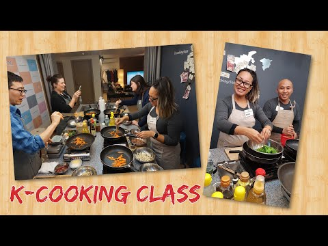 Learning How To Make Korean Food With K Cooking Class | Seoul, South Korea
