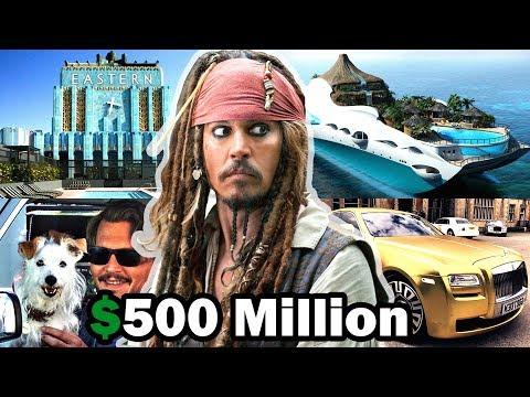 Johnny Depp's Lifestyle ★ 2018