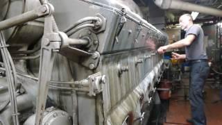 Video Tugboat EMD 16-645E3 blow down and start-up MP3, 3GP, MP4, WEBM, AVI, FLV Oktober 2018