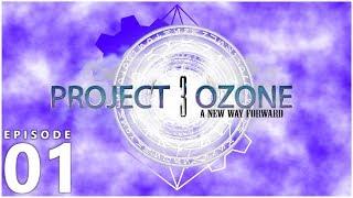 Project Ozone 3 Kappa Mode - IT BEGINS [E01] (Modded Minecraft Sky Block)