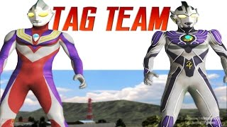 """Ultraman Legend & Ultraman Tiga Tag battle / Tag Teamrequested by @RYAAN ANFacebook Page https://www.facebook.com/AnimePortableGamesUltraman Fighting Evolution 3 (ウルトラマン Fighting Evolution 3) also called """"Ultraman FE3"""" is a Fighting game developed and published by Banpresto. it is the 3rd in the Ultraman Fighting Evolution series. The direction is provided by Yuji Machi, who acted as Ultraman Tiga's voice actor as well.Keywordultramanultraman newultraman hqultraman hdUltraman Originalultrasevenultraman jackultraman aceultraman taroultraman leozoffyultraman 80ultraman tiga, Sky & powerultraman dyna, power & Miracleultraman gaia &Supremeultraman agul & V2ultraman cosmos eclipse & Futureultrmana justice & Crusherultraman legendastra"""