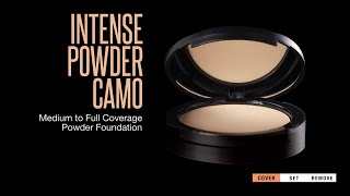 How to Use Dermablend Intense Powder Camo