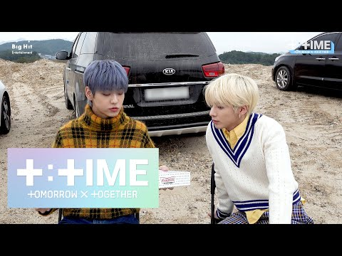 [T:TIME] SOOBIN's Donut Mukbang - TXT (투모로우바이투게더)